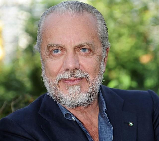 Aurelio De Laurentiis, presidente del Napoli (Profilo social club)