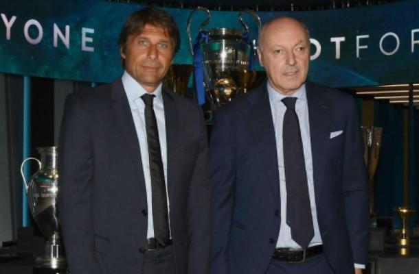 Antonio Conte e Giuseppe Marotta (Ph. Twitter)