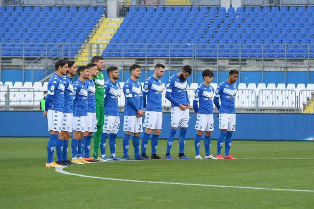 La squadra del Brescia, foto: Brescia Calcio BSFC Facebook