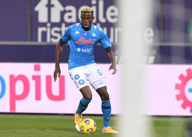 Victor Osimhen in azione in Bologna-Napoli 0-1 (Profilo social Napoli)
