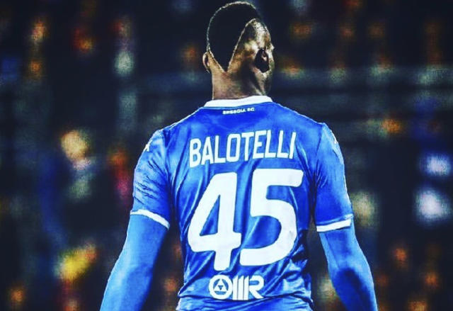 Mario Balotelli (Ph. Twitter)