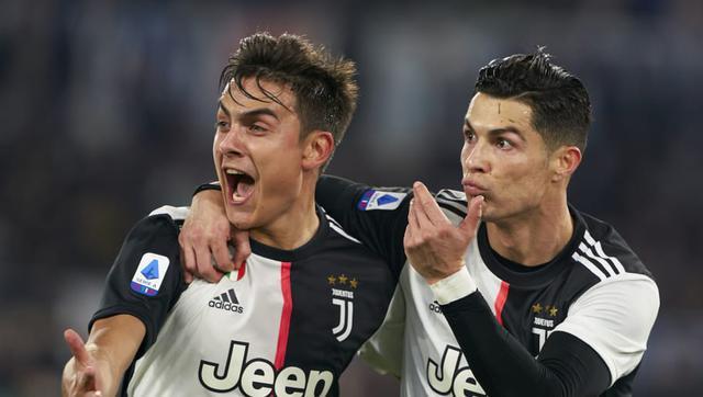 Paulo Dybala e Cristiano Ronaldo (Ph. Twitter)