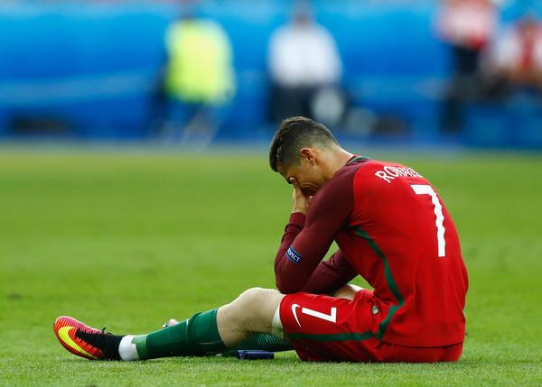 Cristiano Ronaldo infortunio