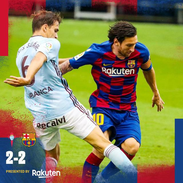 Celta-Barca (ph. Twitter Barcellona)