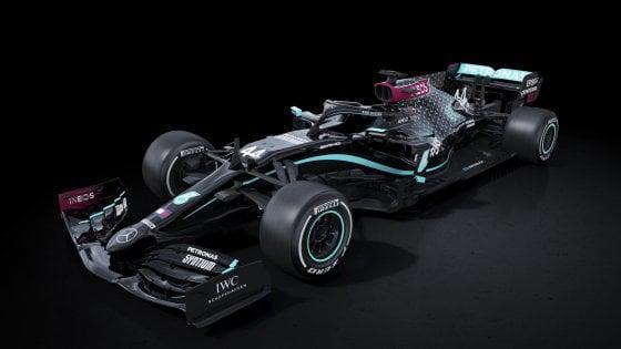 La nuova livrea Mercedes per la stagione 2020 (ph. repubblica.it)