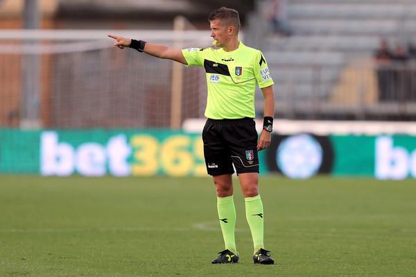 Daniele Orsato arbitro di Spezia-Parma (ph. zimbio)