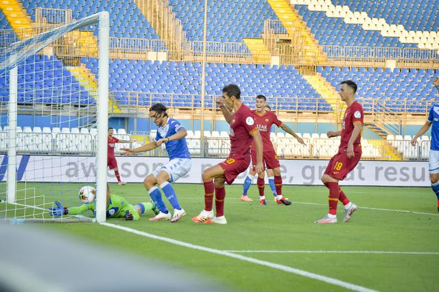 Fazio (ph. Twitter As Roma Official)