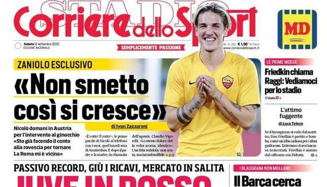 Corriere dello Sport (ritaglio)