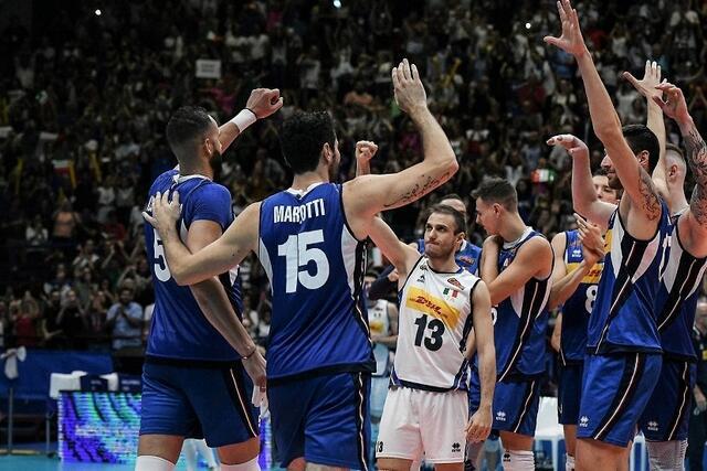 Italia-Iran volley maschile