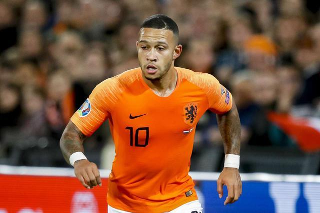 Depay, attaccante dell'Olanda (Ph. Goal.com)