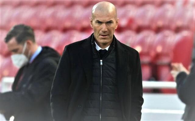 Zinedine Zidane, tecnico del Real Madrid (ph social)
