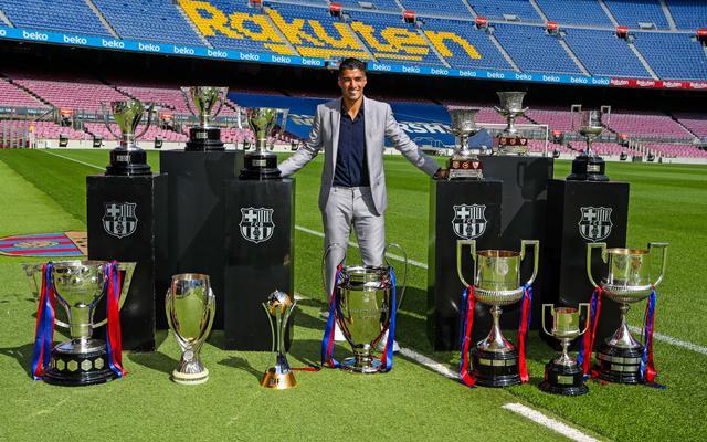 Suarez saluta il Barcellona (ph Twitter Barcellona)