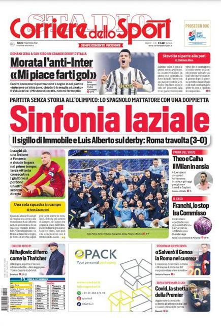 Corriere dello Sport 16 gennaio