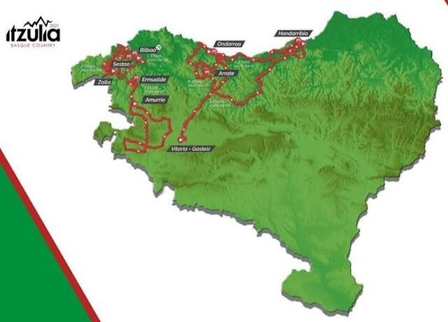 Dove vedere sesta tappa Giro dei Paesi Baschi 2021