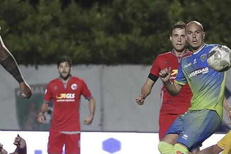 Albinoleffe-Alessandria, match di andata della semifinale play-off di Serie C