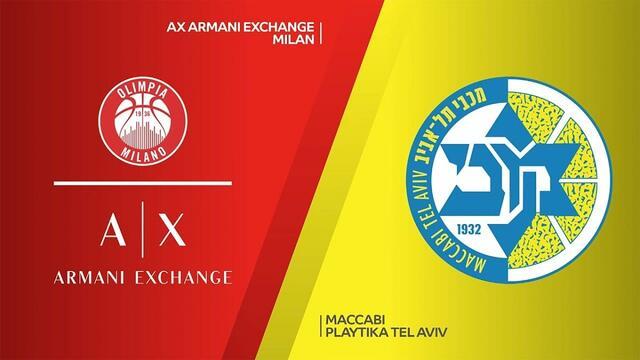 Olimpia Milano-Maccabi Tel Aviv streaming