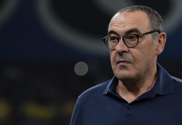 Maurizio Sarri, tecnico della Juventus (Zimbio)