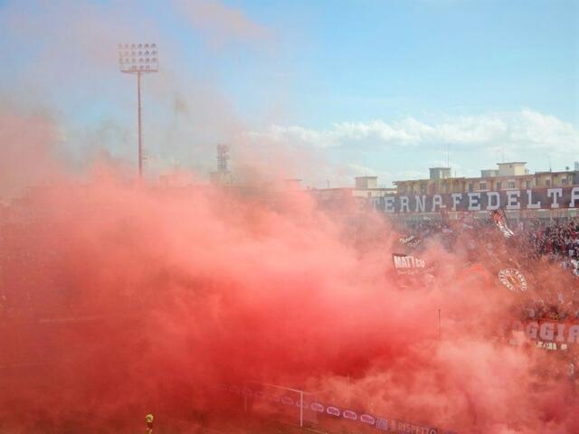 Foggia-Monopoli streaming (fonte foto Twitter)
