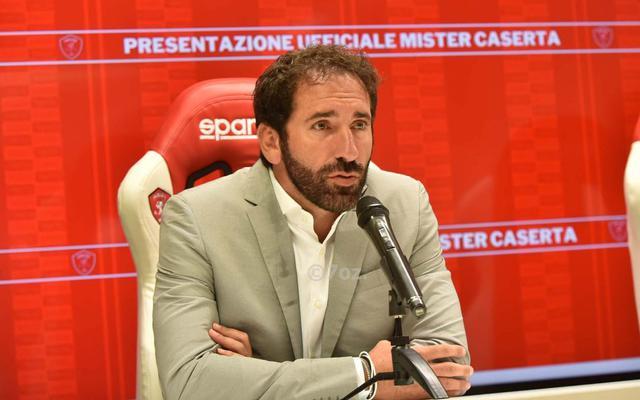 Fabio Caserta (ph sito ufficiale Perugia)