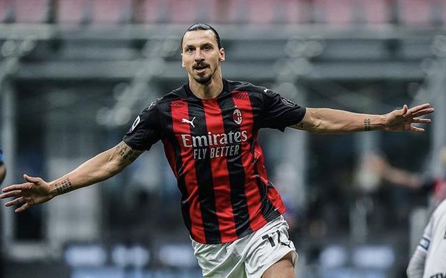 Zlatan Ibrahimovic a segno in Inter-Milan 1-2 (Profilo social Milan)