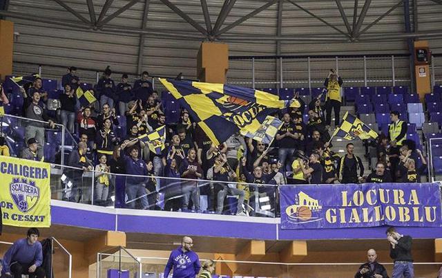 Scaligera Basket Verona tifosi
