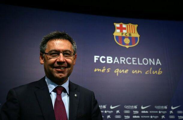 Bartomeu, presidente del Barcellona (ph social)