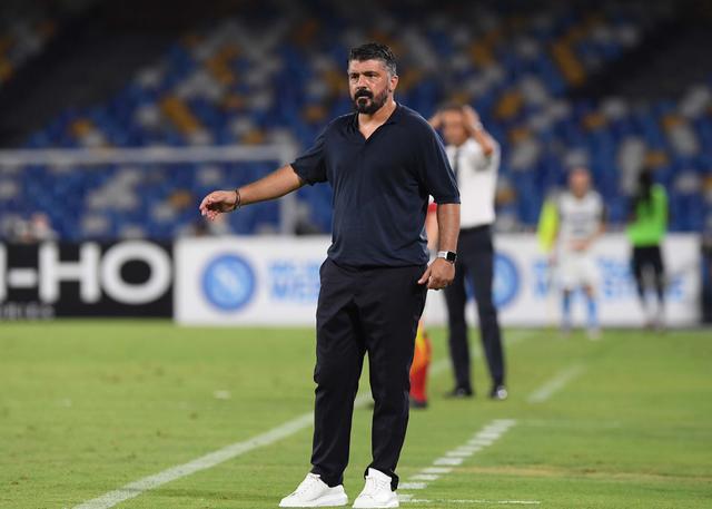 Gennaro Gattuso (ph. Twitter SSC Napoli Official)