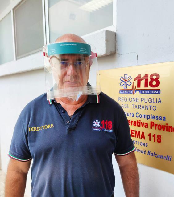 Il presidente del 118 Mario Balzanelli