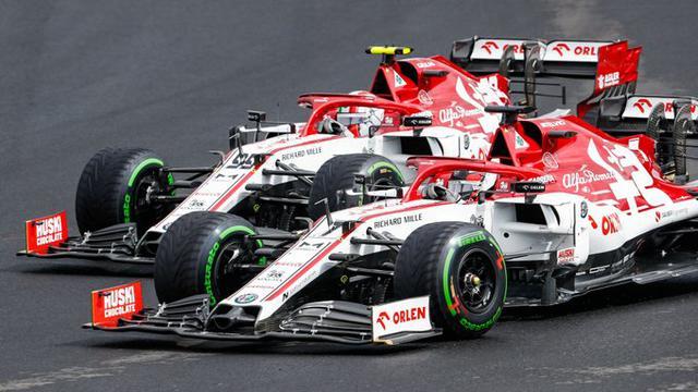 Kimi Raikkonen e Antonio Giovinazzi (Ph. Twitter)