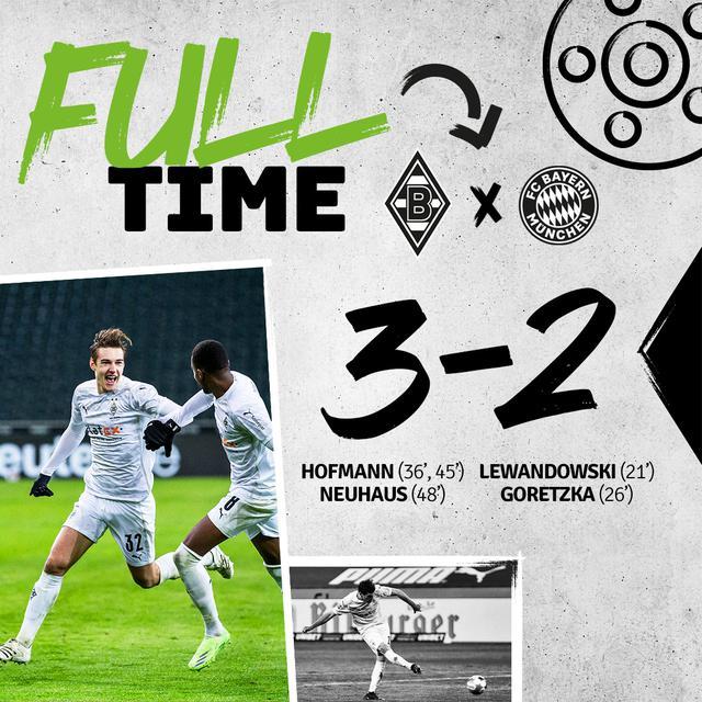 Il Borussia rimonta il Bayern (ph social Borussia)