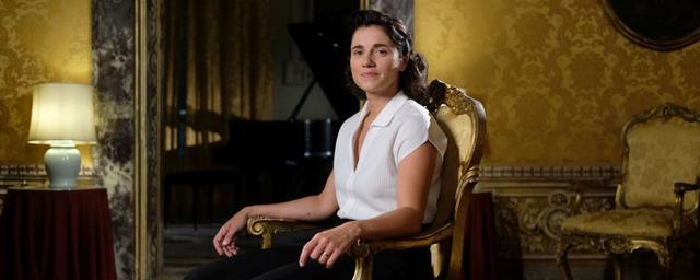 Un'immagine di Ondina Valla interpretata da Eleonora Giovanardi nella docu-fiction Rai il Segno delle Donne