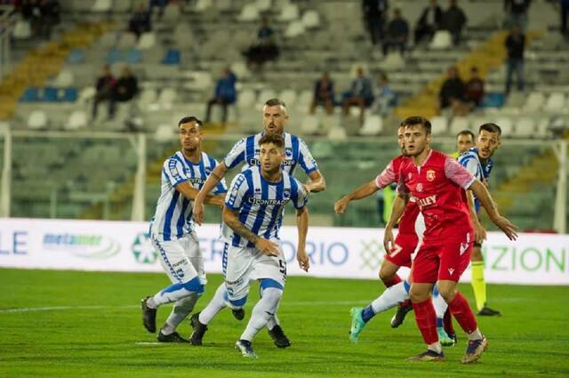 Carrarese-Pescara streaming (fonte: Facebook)