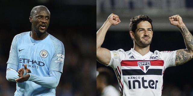 Yaya Touré e Alexandre Pato (Collage da profili social giocatori)