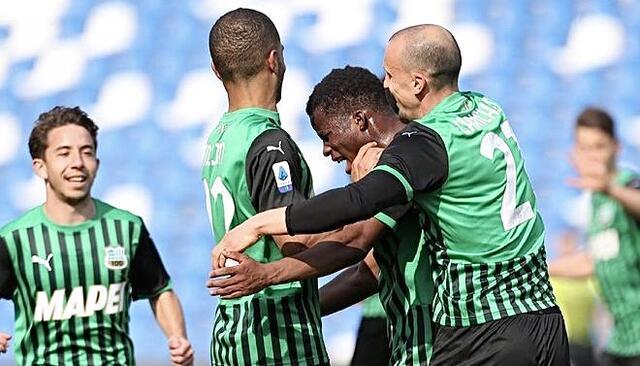 Sassuolo-Roma 2-2 (profilo social Sassuolo)