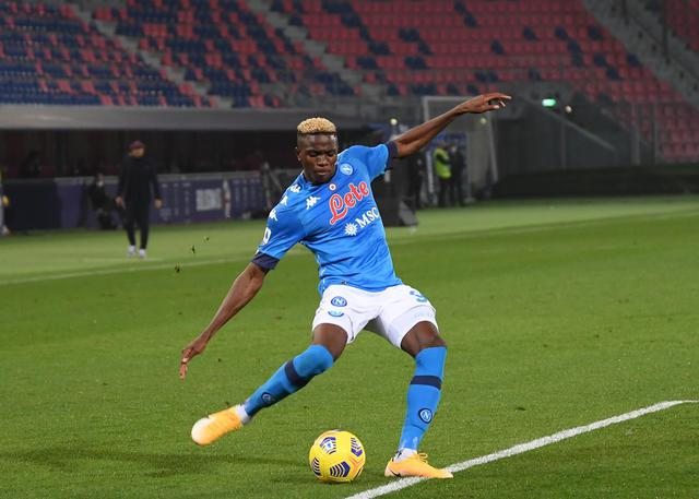 Victor Osimhen (ph. Official Twitter SSC Napoli)