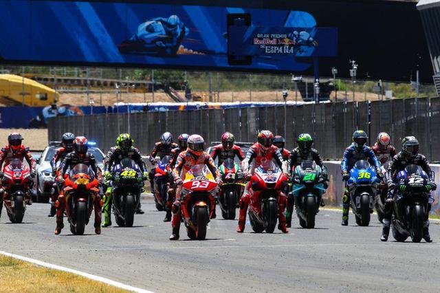 Piloti MotoGP (Ph. Twitter)