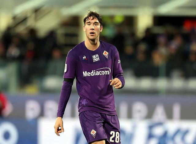 Dusan Vlahovic (ph. Official Twitter ACF Fiorentina)