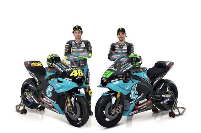 Valentino Rossi e Franco Morbidelli (Ph. Twitter)