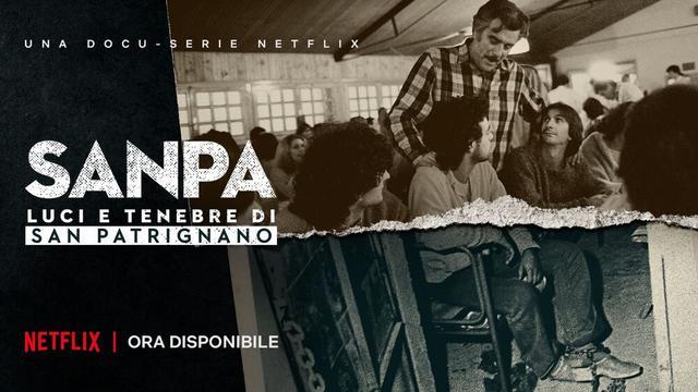 Sanpa - Luci e Tenebre di San Patrignano (ph Netflix)