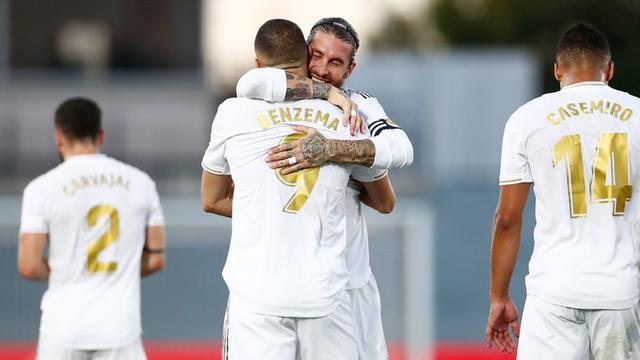 Sergio Ramos e Karim Benzema (Ph. Zimbio)
