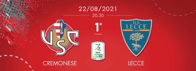 Cremonese-Lecce streaming (fonte: Facebook)