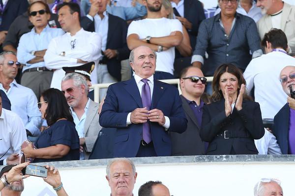 Rocco Commisso, presidente della Fiorentina (ph social)