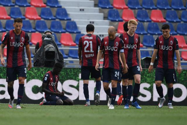 I giocatori del Bologna (ph. bolognafc.it)
