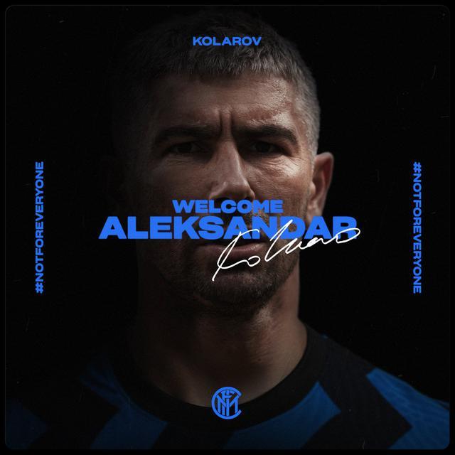 Kolarov all'Inter (ph. social Inter)
