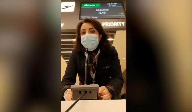 Alitalia - Ultimo volo