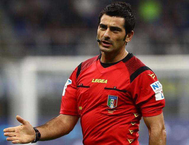 Arbitro Maresca (Ph. Inter News)