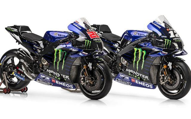 Le Yamaha M1 per il Mondiale 2021 (Ph. Twitter)