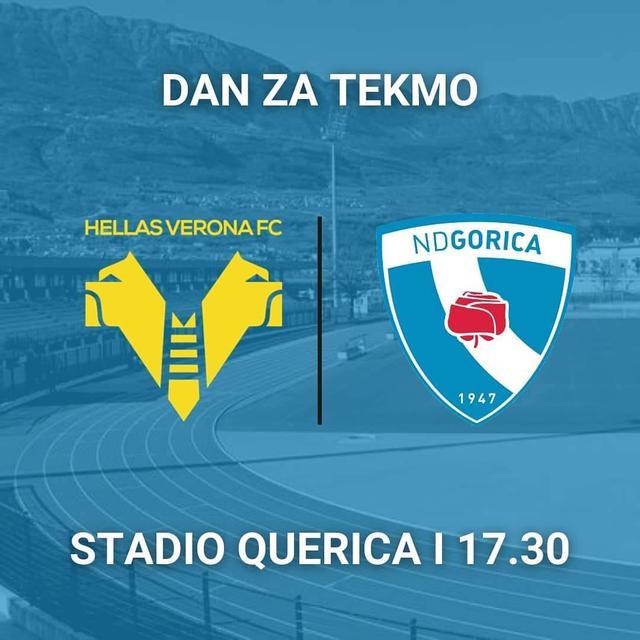 Dove vedere amichevole Hellas Verona-ND Gorica, streaming gratis e diretta tv in chiaro?