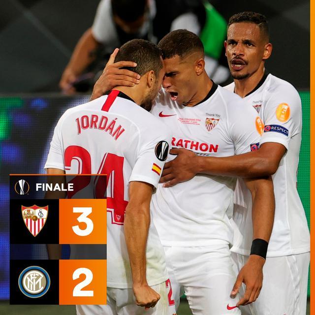 Il Siviglia vince la 6° Europa League della sua storia
