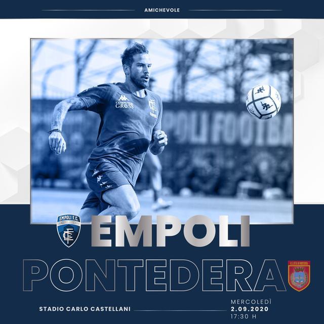 Dove vedere amichevole Empoli-Pontedera, streaming gratis e diretta tv